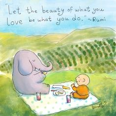 Buddha Doodle: Do what you Love