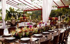 Centro de mesa: casamento no campo - Foto Ribas