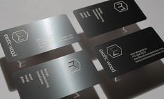 Metal Business Cards for Exotic Wood