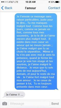 Citations Instagram, Instagram Quotes, Beautiful Love Quotes, Romantic Love Quotes, Miss You, French Words Quotes, Forever Quotes, Tu Me Manques, Cute Texts