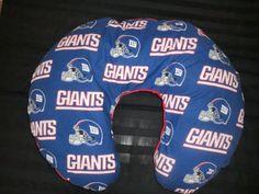NY Giants Boppy Cover-- on Etsy, $24.50