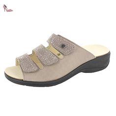 Rohde 5273 Prag Sandales Femme, Schuhgröße_1:35 EU;Farbe:Gris