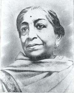 Indian independence activist and poet. Also known as the Nightingale of India - Sarojini Naidu