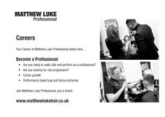 Could it be you? We're recruiting for outstanding individuals to join our salons in Bedfordshire, Hertfordshire & Cambridgeshire