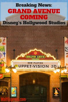 Breaking News: GRAND AVENUE Coming To Hollywood Studios Fall 2017