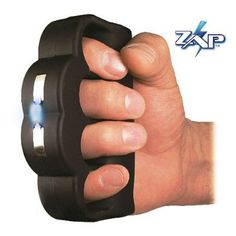 KNUCKLE BLASTER is a volt stun gun designed to give you a punch with power! This unique stun device covers your knuckles and is easy to grip. The Knuckle Blaster Stun Gun can not be easily tak. Self Defense Weapons, Brass Knuckles, Personal Defense, Personal Security, Personal Safety, Leather Holster, Tecno, Cool Gadgets, Cool Gifts