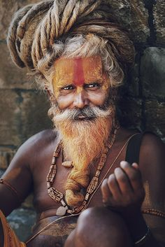 Sadhu by Yana Sirenko Street Photography, Portrait Photography, Tribal People, India People, Before Us, Martin Luther King, People Around The World, Varanasi, Dreadlocks