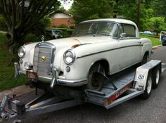 1958 Mercedes Benz 220s Coupe