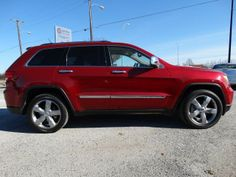 Used 2011 Jeep Grand Cherokee Overland surprising red