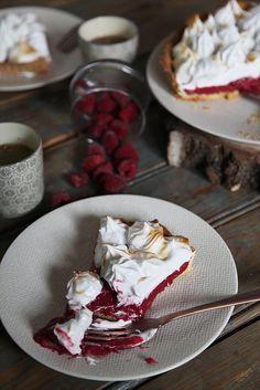 Tarte framboise meringuée | recettes faciles pour gourmands compulsifs
