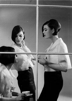 Triplets Fashion 1964 Photographed for LIFE Magazine