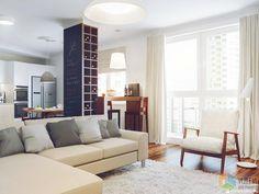 Дизайн интерьера гостиной, светлая гостиная