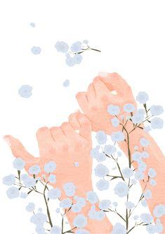 Everytime we touch. Illustration Art, Illustrations, Cute Couple Art, Aesthetic Pastel Wallpaper, Cute Cartoon Wallpapers, Aesthetic Art, Cute Drawings, Wallpaper Backgrounds, Hand Wallpaper