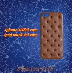 iphone 4 case,iphone 4s case,iphone 5 case,ipod touch 4 case,ipod touch 5 case--Sandwich,in plastic and silicone by BlueSeaFish, $14.99