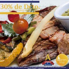 Te esperamos en Angus Brangus Parrilla Bar   con 30% de descuento en #MartesVisa; disfruta nuestro menú de comidas y bebidas.  Aplican condiciones y restricciones.   Reservas: 2321632. www.angusbrangus.com.co  . Cra. 42 # 34 - 15 / Vía las Palmas   #RestaurantesMedellín #AngusBrangus #parrilla #Medellín #gastronomía #dondecomerenmedellin Visa  BBVA Colombia  Bancolombia  #Colombia #laspalmas #restaurantesrecomendados #recomendadosmedellín #medellíntown #medellincity