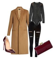 A fashion look from December 2016 featuring cashmere coat, River Island and red high heel shoes. Browse and shop related looks. Mood Boards, Balmain, River Island, Ted Baker, Joseph, Christian Louboutin, Plush, Elegant, Polyvore
