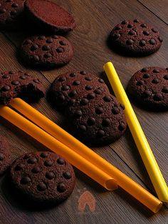 pyszne ciastko czekoladowe