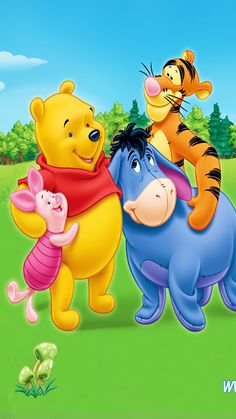 Fondos de Winnie The Pooh para Whatsapp | Imágenes-Wallpappers
