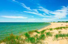 Pier Marquette Beach, Muskegon, Michigan, USA (photo by Jeramie Curtice)