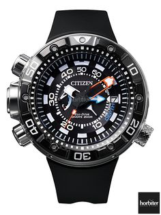 Diving Soon! The CITIZEN PROMASTER AQUALAND Depth Meter 2014…