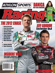 Danica Patrick unsigned 2012 Athlon Sports NASCAR Racing Preview Magazine by Hall of Fame Memorabilia. $33.95. The 2012 NASCAR Sprint Cup season is just around the corner. And after arguably the greatest championship finish in the sport's history fans can't wait for the green flag to drop on a new season. The 10th anniversary edition of Athlon Sports Racing arrives just in time to provide the preseason analysis and predictions craved by race fans from Sonoma to Daytona and...