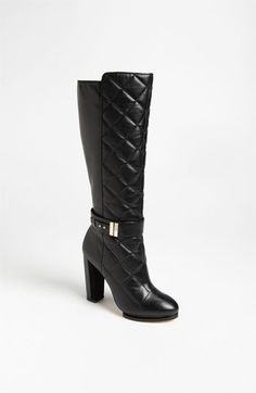 Wish these boots weren't so expensive! Love the style!  Rachel Roy 'Eva' Tall Boot available at #Nordstrom