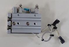 SMC MXS12L-30  Linear Guide Pneumatic Air Cylinder Flow Regulators, 0.7MPa D-A93 #SMC