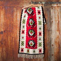 Vintage handwoven kilim rugs Bulgarian kilim rugs by PetarsVintage