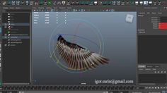 Wing Feather Rigging on Vimeo