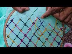 Hand Embroidery : Dandy stitch / Dandy design - YouTube