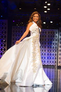 Geovanna Hilton- Miss Nevada Teen USA 2015 Preliminary Gown Competition