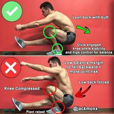 Pistol Squat is Completely Different from a Two Legs Squat‼️