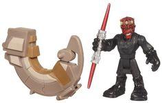 Amazon.com: Playskool Heroes, Star Wars, Jedi Force Figure, Darth Maul with Sith Speeder: Toys & Games