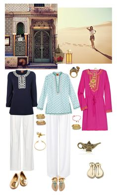 Sand ocean by lj-case on Polyvore featuring polyvore, fashion, style, Tory Burch, sass & bide, Balmain, Mystique, Chamak by Priya Kakkar, Ben-Amun, Julie Vos, L'Artisan Parfumeur, Pier 1 Imports, Maroc, Leiber, Boucheron and clothing
