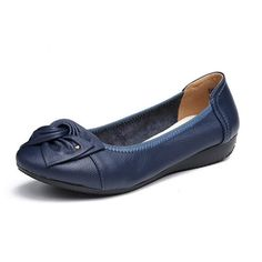 Leather Ballet Flats, Flat Shoes, Leather Shoes, Women's Shoes, Pu Leather, Ballet Shoes, Shoes Sneakers, Ballerinas, Zapatos Slip On