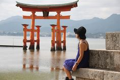 Fashionable wanderlust at Itsukushima shrine #hiroshima #miyajima #asos #japan #travel #hashtagbylily #ootd #streetstyle #fashionblogger #styleblogger #shrine #Itsukushima