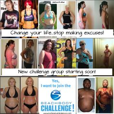 Join my next challenge group.