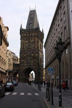 Portão da Pólvora - Praga