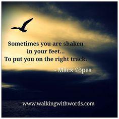 Shaken  #walkingwithwords #wordpress #inspiration #lifequotes