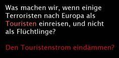#terroristen als touristen?!