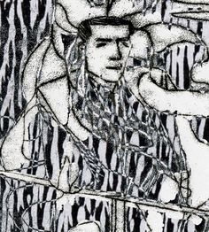 #monoprint #monochrome #sketch #drawing #illustration #ink