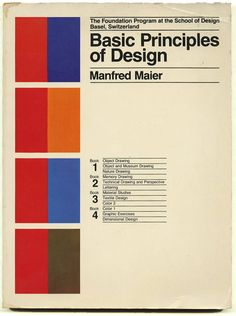 Basic Principles of Design by Manfred Maier