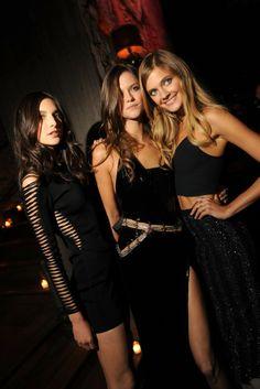 Jacquelyn Jablonski, Kasia Struss and Constance Jablonski----Crushing on Angels at the Victoria's Secret After Party