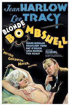 """Blonde Bombshell"" (1933) Jean Harlow / MGM"