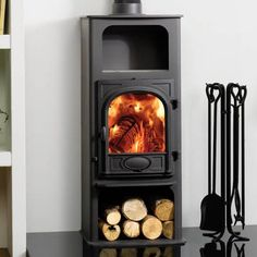 Stovax Stockton 6 Highline Multifuel / Woodburning Stove, the one we have! Gorgeous!!