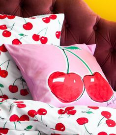 Cherry Chic from HM.com Cherry Farm, Cherry On Top, Cherry Tree, Cherry Cherry, Cherry Delight, Cherry Furniture, Red Cottage, Cozy Cottage, Design Retro