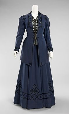 1905-1910, Walking suit, The Metropolitan Museum of Art.