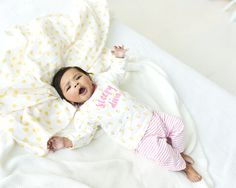Prénatal newborn meisjes pyjama
