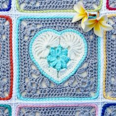 Heart in Bloom Square – Vivid Kreations