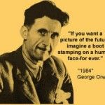 Orwell- Boot Stamping on a Human Face Forever: Taught by an English teacher to Rhodesian Youths BEFORE Mugabe, before Zimbabwe